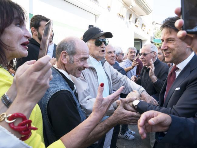 Il Presidente Conte ad Avellino