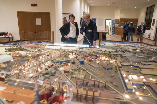 Il Presidente Conte visita gli stabilimenti ex Ilva