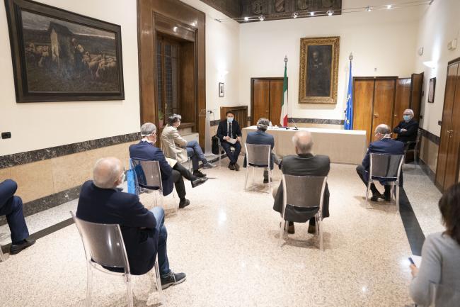 Il Presidente Conte a Brescia