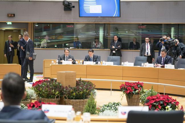 Il Presidente Conte all'Euro Summit