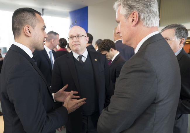 Il Ministro Di Maio alla Conferenza di Berlino sulla Libia