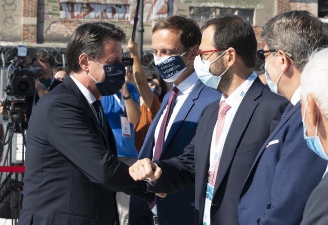 Il Presidente Conte a Trieste