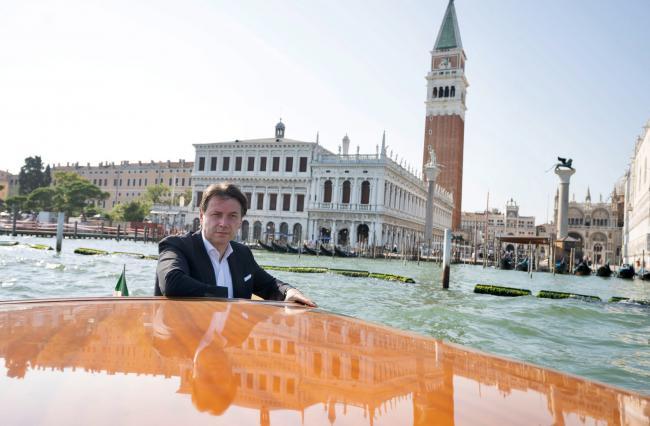 Il Presidente Conte a Venezia