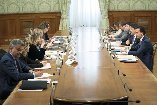 Agenda 2023, il Presidente Conte presiede il tavolo sulla Sanità