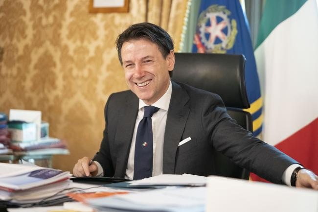 Conte partecipa alla riunione del Consiglio Europeo