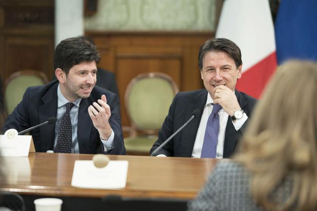Agenda 2023, il Ministro Speranza e il Presidente Conte al tavolo di lavoro sulla Sanità