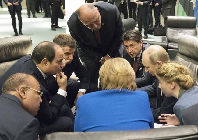 Il Presidente Conte alla Conferenza di Berlino sulla Libia