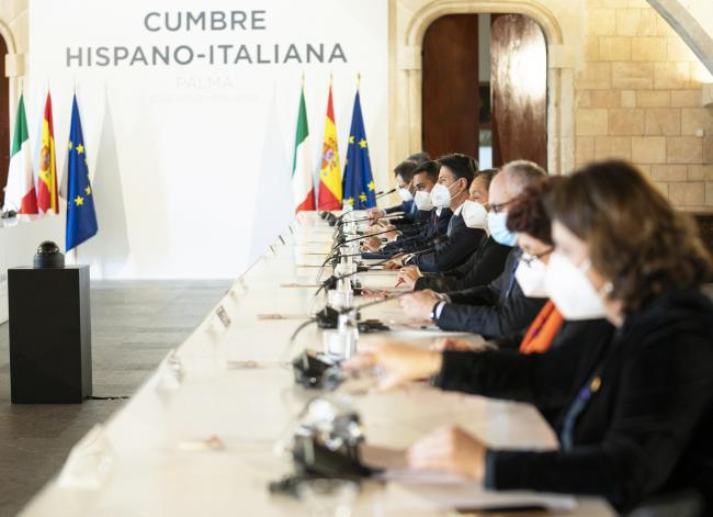XIX Vertice intergovernativo italo-spagnolo, sessione plenaria