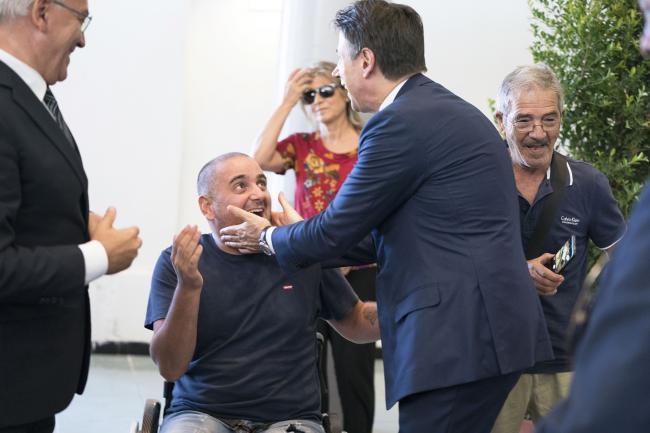 Il Presidente Conte alla Fiera del Levante