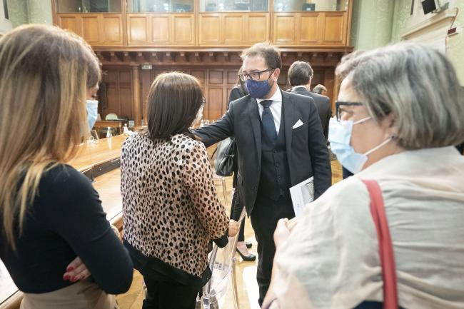 Thyssenkrupp, il Presidente Conte ed il Ministro Bonafede incontrano i familiari delle vittime