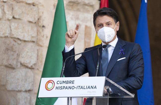 XIX Vertice intergovernativo italo-spagnolo, conferenza stampa congiunta