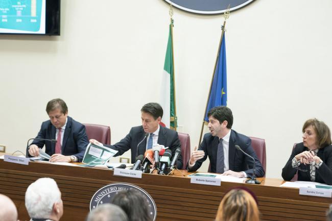 Salute, la presentazione delle attività del Governo