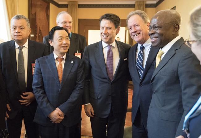 Il Presidente Conte alla FAO