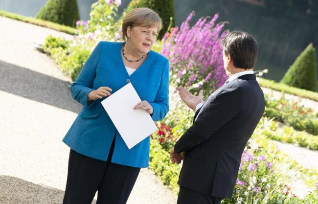 Incontro Conte - Merkel