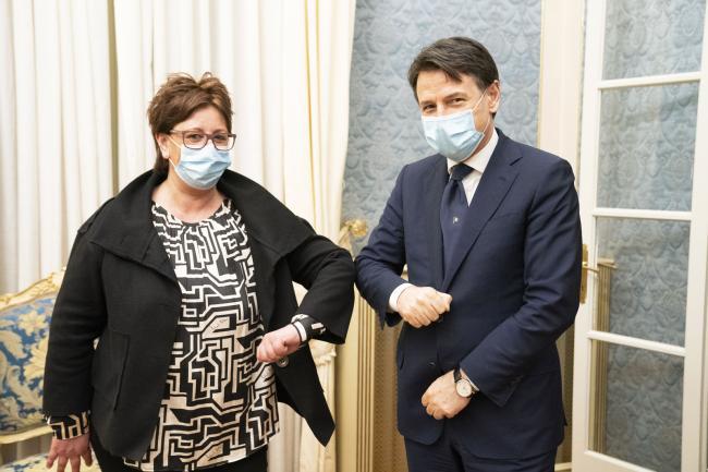 Il Presidente Conte a Cremona