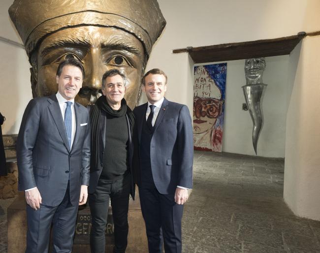 XXXV Vertice intergovernativo italo-francese, visita al Teatro San Ferdinando