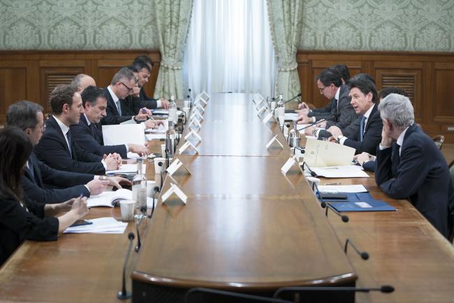 Agenda 2023, il Presidente Conte presiede il tavolo su Europa e Autonomia differenziata