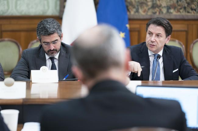 Agenda 2023, il Presidente Conte e il Sottosegretario Fraccaro al tavolo su Europa e Autonomia differenziata