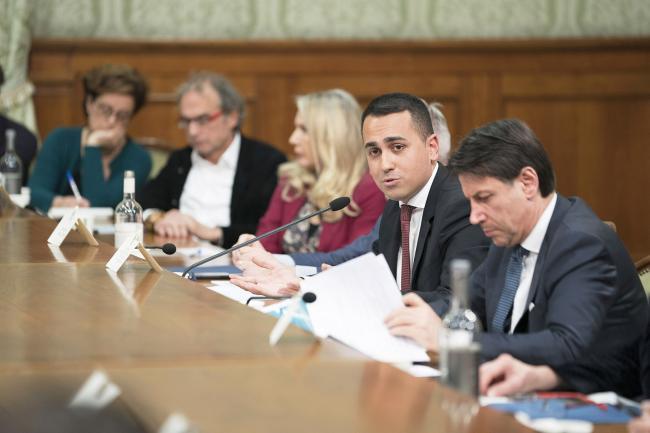 Libia e Iran, riunione a Palazzo Chigi con il Presidente Conte