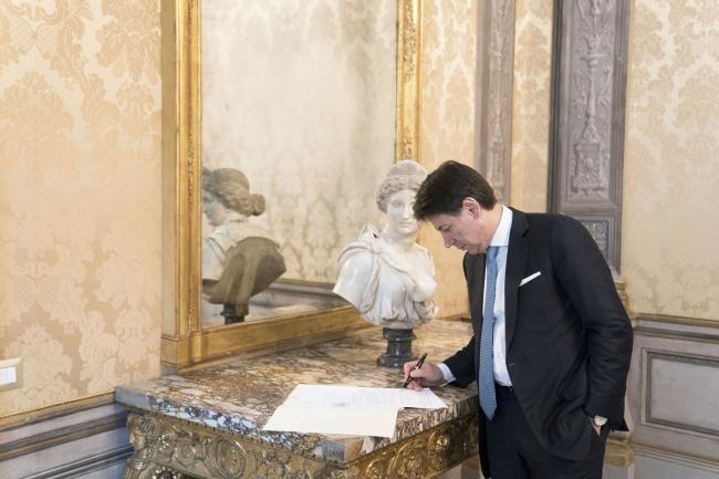 Firma del contratto tra Banca Europea per gli Investimenti e Cassa Depositi e Prestiti