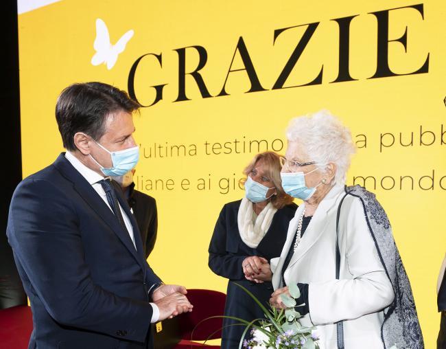 """Il Presidente Conte partecipa a """"Grazie Liliana!"""""""