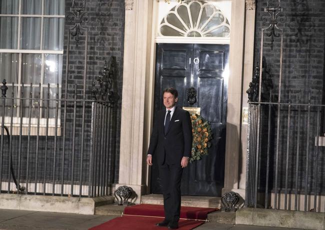Il Presidente Conte a Londra