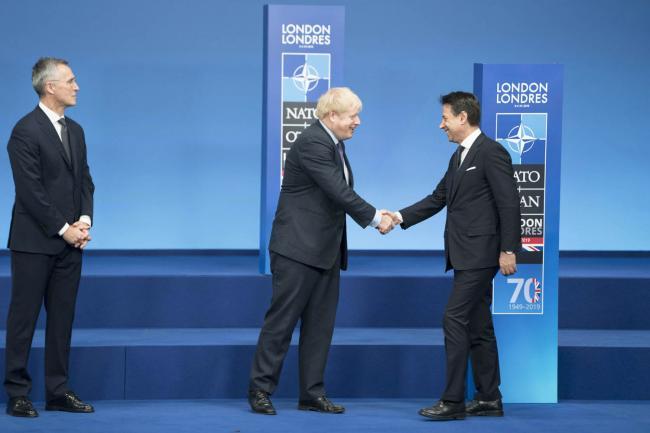 Summit NATO, il Presidente Conte a Londra