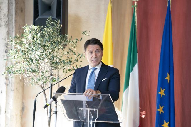 """Conte interviene alla conferenza """"A 45 anni dagli Accordi di Helsinki"""""""