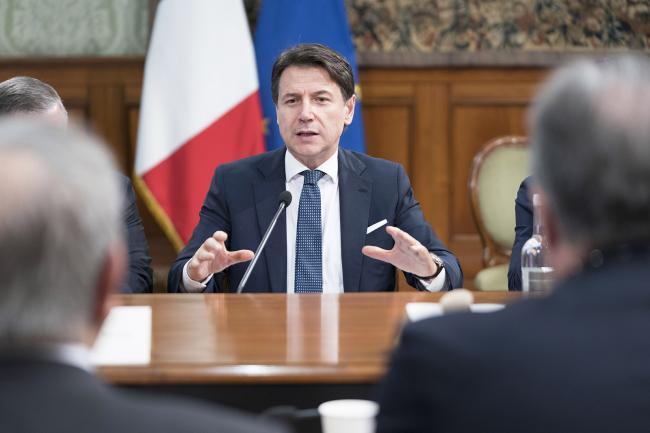 Il Presidente Conte al tavolo sul Contratto Istituzionale di Sviluppo per la Basilicata