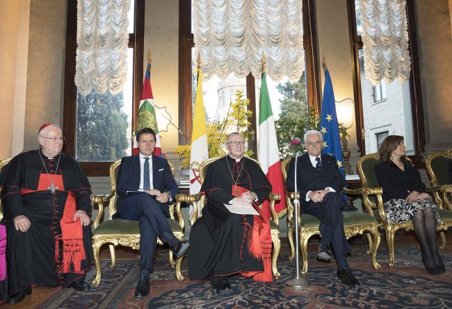 Le celebrazioni per la ricorrenza dei Patti Lateranensi e dell'Accordo di Revisione del Concordato