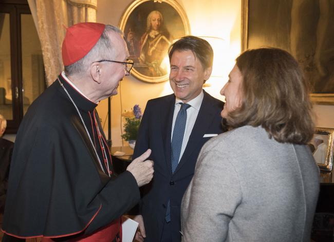 Il Presidente Conte e il Ministro Catalfo alle celebrazioni per la ricorrenza dei Patti Lateranensi e dell'Accordo di Revisione del Concordato