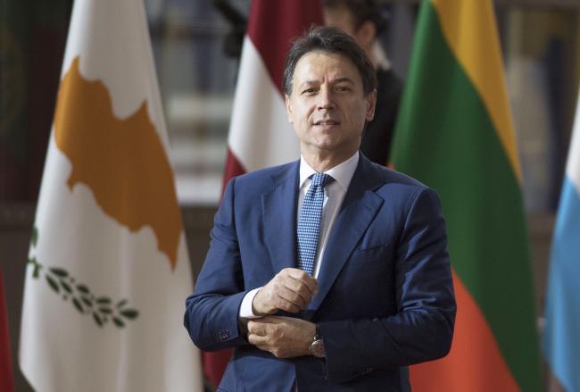Conte partecipa ai lavori della seconda giornata del Consiglio europeo