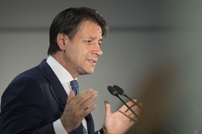 Consiglio europeo, conferenza stampa del Presidente Conte
