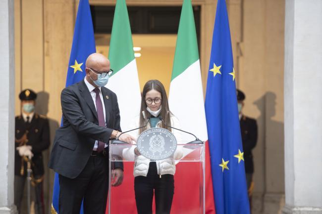 Intervento di Chiara, figlia di Paolo Salvucci