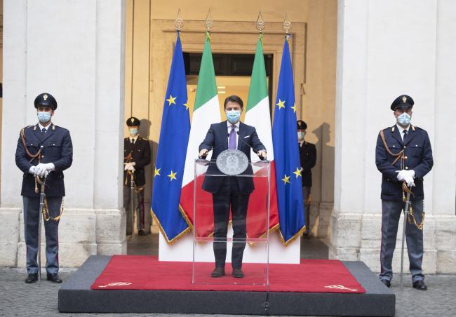Intervento del Presidente Giuseppe Conte