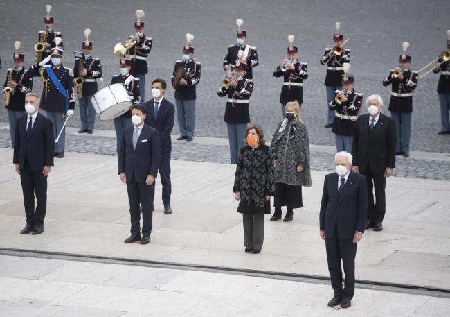 Le celebrazioni per il Giorno dell'Unità Nazionale e per la Giornata delle Forze Armate