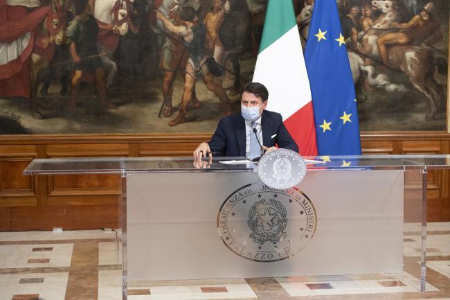 Dpcm 3 novembre 2020, conferenza stampa del Presidente Conte