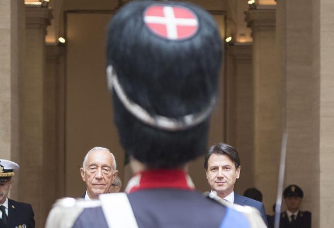 Conte incontra il Presidente della Repubblica Portoghese