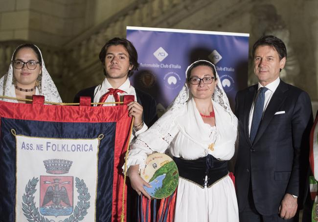 Il Presidente Conte alla Giornata nazionale del folklore e delle tradizioni popolari
