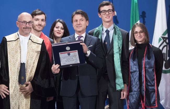Conte all'Università di Camerino