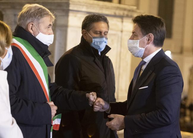 Conte a Genova
