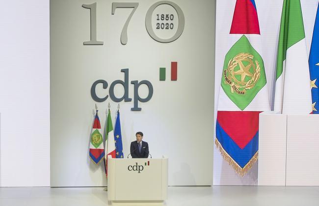Il Presidente Conte al 170° anniversario di Cassa Depositi e Prestiti