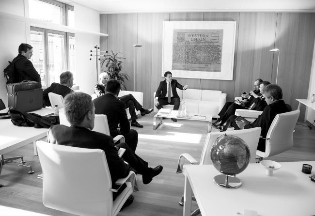 Conte durante i lavori del Consiglio europeo