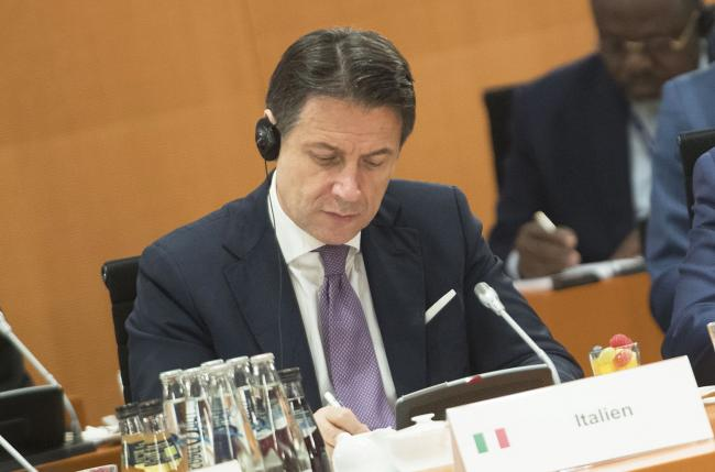 "Il Presidente Conte a Berlino per la Conferenza G20 ""Compact with Africa"""
